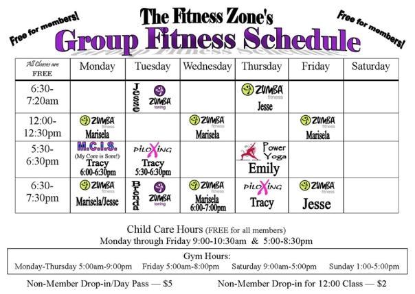 FitnessZone-schedule-sept2015